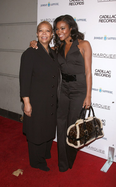 Gabrielle Union with Mom