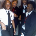 We operated flight 5202 from Atlanta to Nashville and flight 5106 from Nashville back to Atlanta. The crew included Captain Rachelle Jones, First Officer Stephanie Brown Grant, FA's Robin Rogers and Diana Galloway!