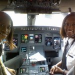 On February 12, 2009, Captain Rachelle Jones and First Officer Stephanie Brown Grant made history for being the first all African-American female crew to operate a commercial jet revenue flight Atlantic Southeast Airlines(ASA).