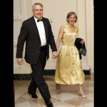 Colorado Governor Bill Ritter and his wife Jeannie Ritter.  And if we had to do a best and worst dressed list...ummmmm.........