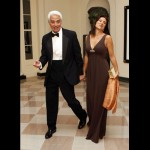 Florida Governor Charlie Crist and his wife Carole Crist.  I thought this was either the New York or the New Jersey Governor and wife.  Anyone feeling Soprano vibe here?
