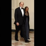 """New Jersey Jon Corzine and his guest Sharon Elghanayan  I don't know about you, but she LOOKS like a """"guest"""" and not a wife. That damn New Jersey! Always in a scandal."""