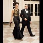 New York Governor David Paterson and wife Michelle Paterson