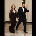 Texas Governor Rick Perry and his wife Anita Perry