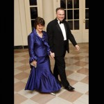 Virginia Governor Tim Kaine and his wife Anne Holton