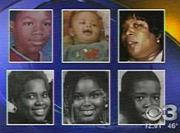 Members of informant Eugene Coleman's family that were killed in arson fire.