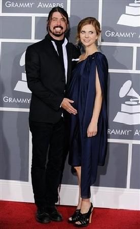 David and Jordyn Grohl
