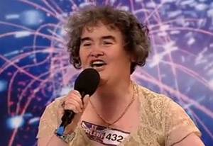 Susan Boyle, British Idol contestant