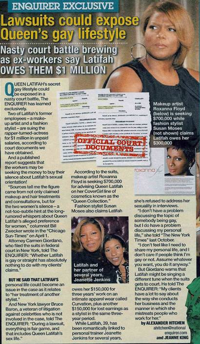 National Inquirer Article