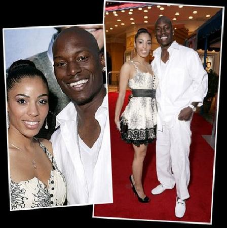 Tyrese and Wifey during happier times