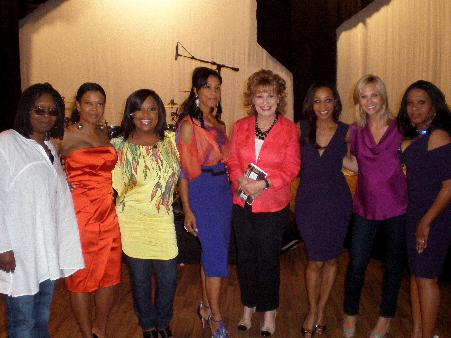 EnVogue and the cast of the View