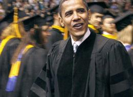 President Obama delivers commencement speech at Arizona State University