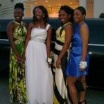 Danyel Neal, Deandra, Iesha Perrin, Chanel Perrin Miller Grove High School Prom 2009