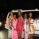 Erin, Charnele, Destiney, Terryann and Thamara Cedar Grove High School Prom 2009