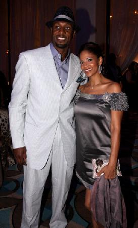 Alonzo and Tracey Mourning