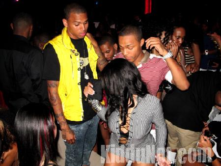 Bow Wow, Breezy and a skank
