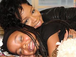 Jasmina Anema and Rihanna