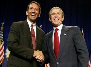 Mark Sanford with Bush
