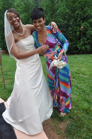 Monica and the Bride