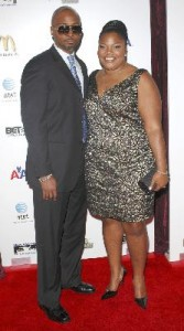 Mo'Nique with husband Sidney Hicks