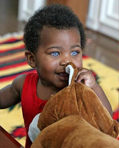 Have You Seen The Crystal Blue Eyed Black Boy Photos