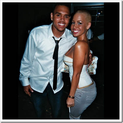 Breezy and Amber Rose...