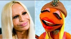 donnatella versace and muppet