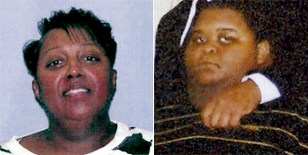 Jerri Gray (mother) and Alexander Draper (over weight son)