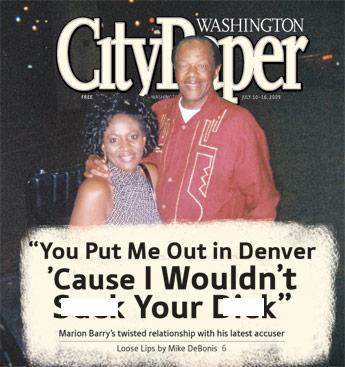 Washington City Paper's controversial headline and story is grabbing attention
