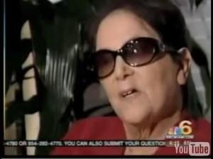 "Sharron ""Kay"" Thornton, blind since 2000 has regained sight."