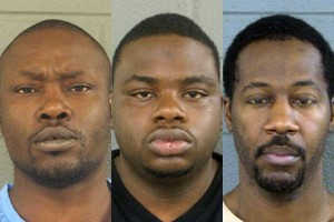 Martez Anderson, Lance Webb and Charles Sutton, were arrested in connection with the dog fighting ring.