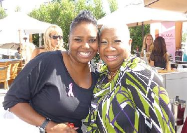 Luenell and Shar Jackson at the Emmy's 'Free Spree'
