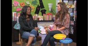 Nia Long with Ali Landry on 'Spotlight to Nightlight'
