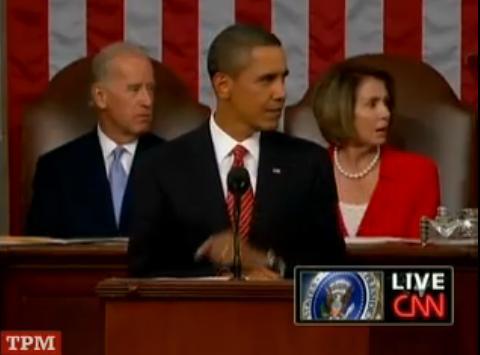 Biden, Obama, Pelosi react to Joe Wilson's outburst