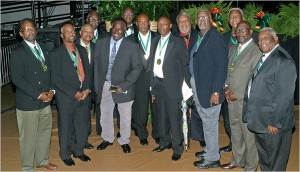 Members of the 1969 Florida A&M football team.