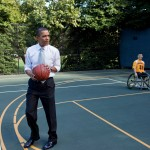 obama hoops with disabled