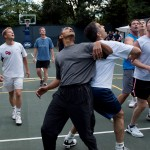 obama only black guy on the court