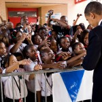 obama school children excited