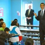 obama visits school zany