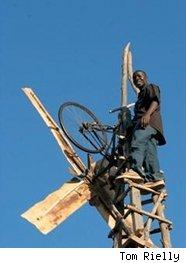 Windmill maker William Kamkwamba