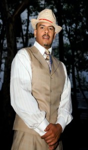 Christopher Williams plays the husband, Stewart