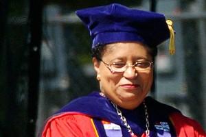President of Rensselaer Polytechnic Institute, Shirley Ann Jackson
