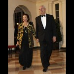 Colin Powell and wife Alma