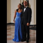 Mayor of Washington, D.C. Adrian Fenty and wife Michelle