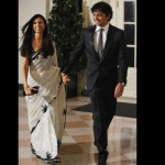 Director M. Night Shyamalan and wife Bhavna