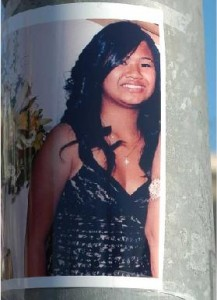 Melody Ross, 16, honor student at Woodrow Wilson High School fatally shot at Homecoming game.