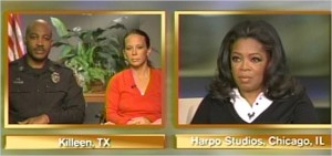 Officers Sgt. Munley and Sr. Sgt. Todd on Oprah's show for the first time discussing publicly the ordeal at Fort Hood.