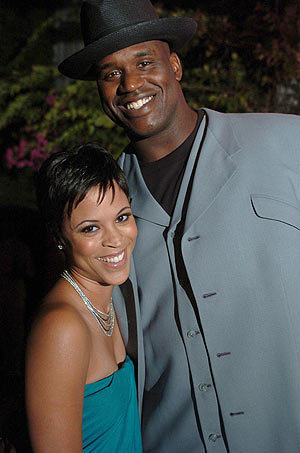 shaq-and-wife