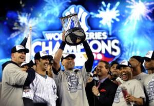 The 2009 World Series Winners, the New York Yankees!