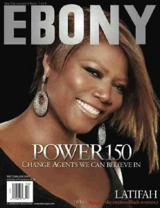 Ebony covers-queen latifah